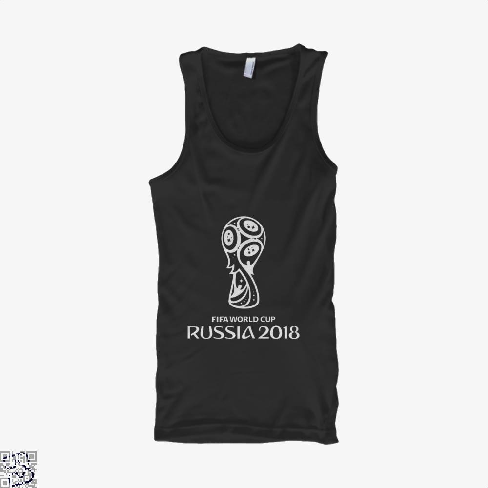 Fifa World Cup Russia 2018 Tank Top - Men / Black / Small - Productgenapi