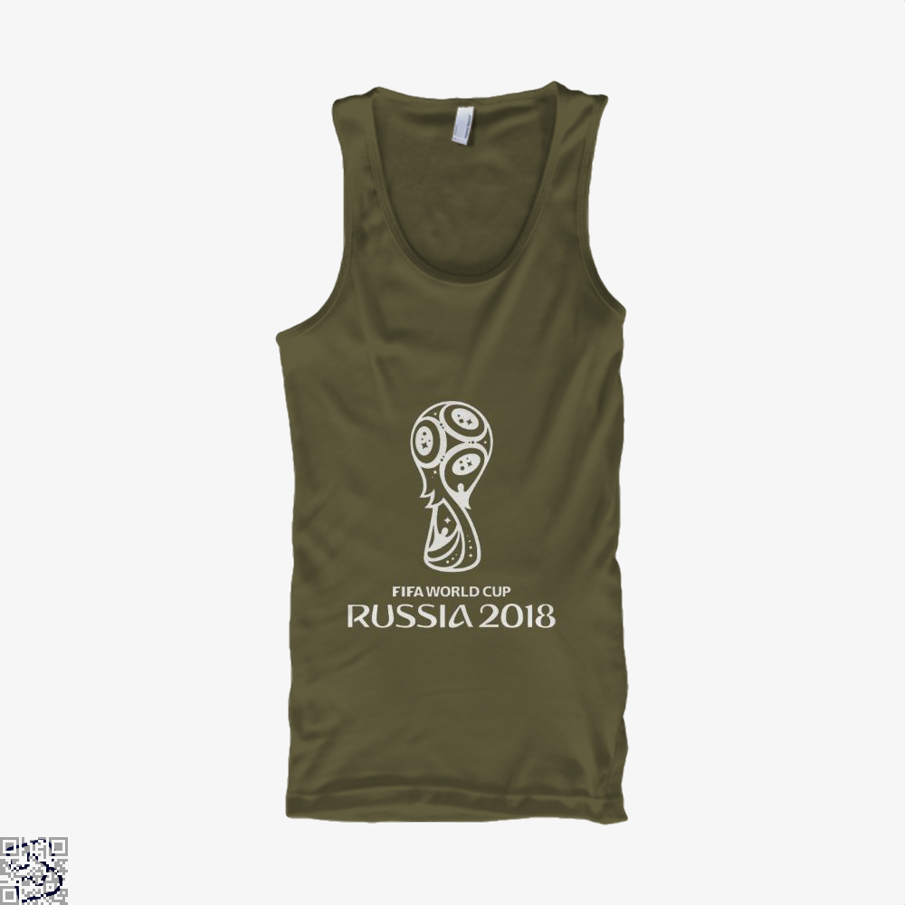 Fifa World Cup Russia 2018 Tank Top - Men / Brown / Small - Productgenapi