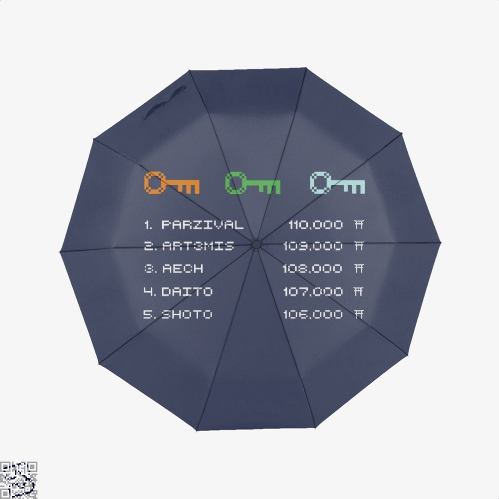 Ready Player One Leaderboard, Ready Player One Umbrella