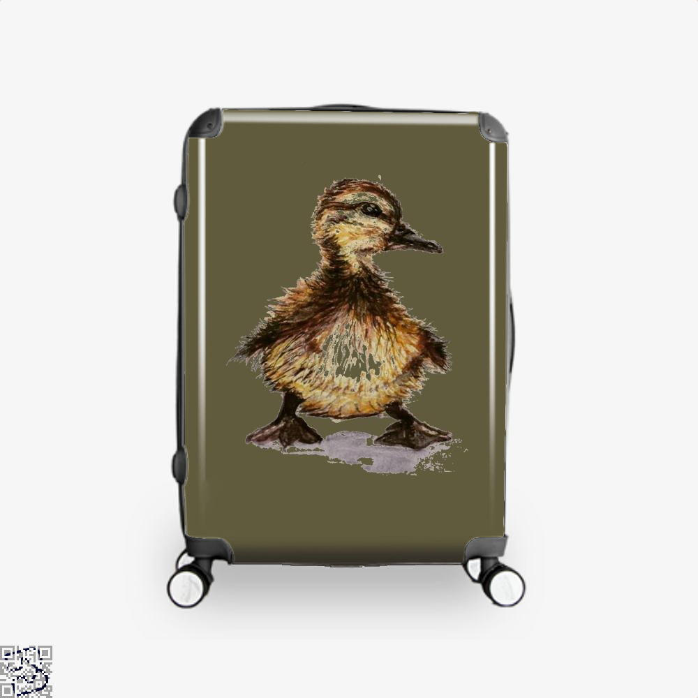 Little Duck, Schmidtfacedartistry Suitcase