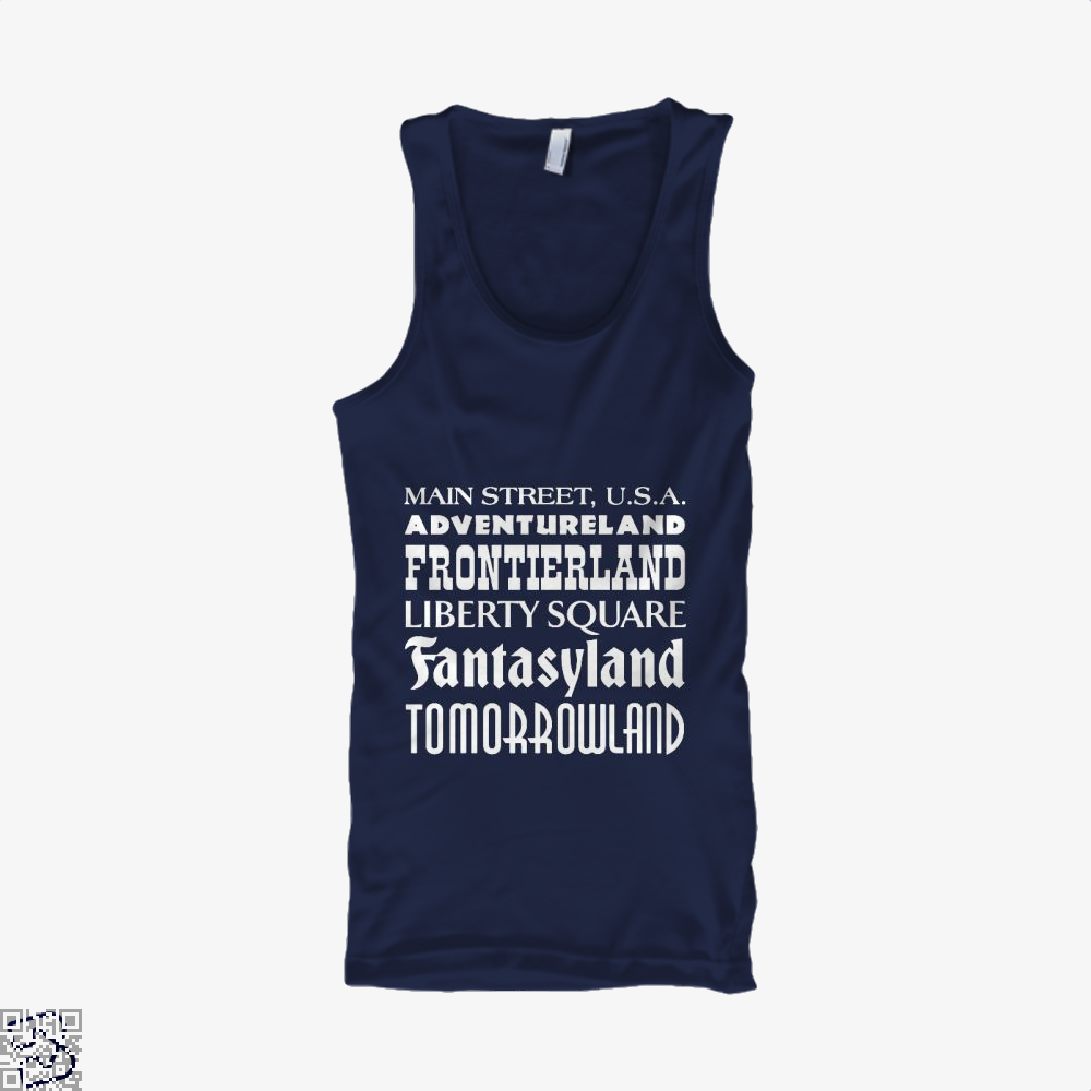 Magical Kingdom Fifa World Cup Tank Top - Men / Blue / Small - Productgenapi