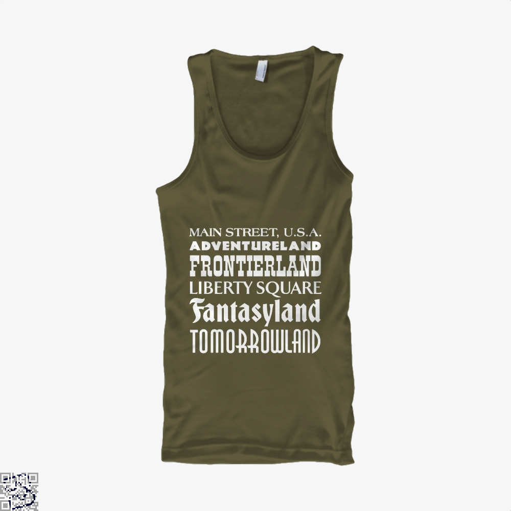 Magical Kingdom Fifa World Cup Tank Top - Men / Brown / Small - Productgenapi