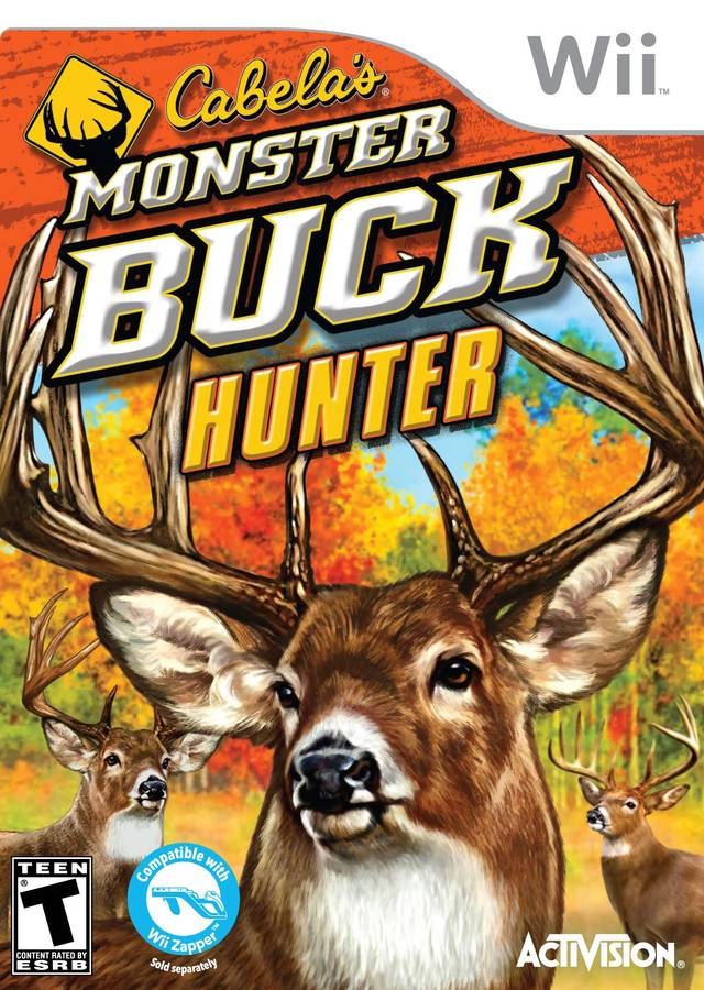 Cabela's Monster Buck Hunter - Nintendo Wii [USED]