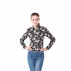 Image of Women's floral blouse