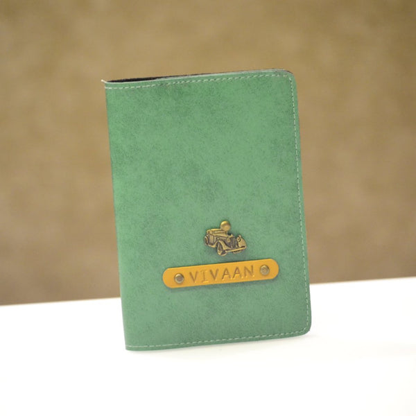 Eco Green Passport Cover