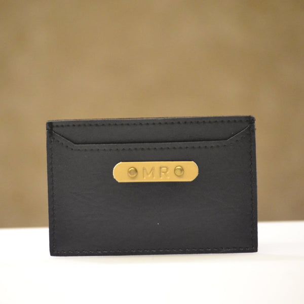 Charcoal Black Card Holder
