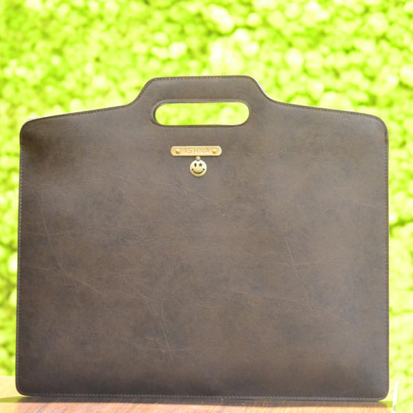 Coffee Brown Laptop Bag