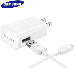 Samsung 2A Adaptive Fast Charging Micro-USB Wall Charger - Shop Android