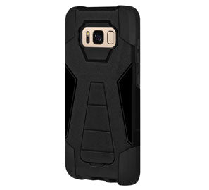 Amzer Dual Layer Hybrid Kickstand Case for Samsung Galaxy S8 - Shop Android