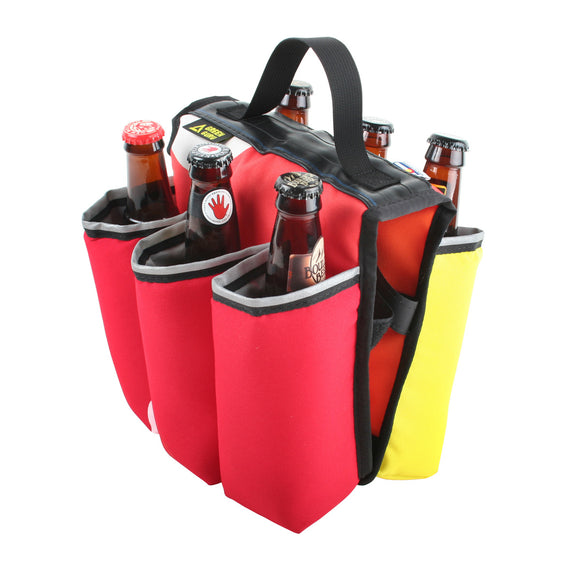 Green Guru - Sixer 6-Pack Bottle Holder - Multi-color - ZEITBIKE