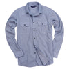 Men's Slim Fit Brushed Chambray Shirt