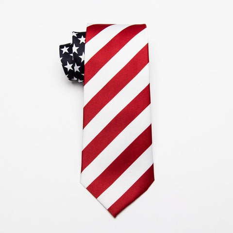 Image of American/USA Flag Necktie