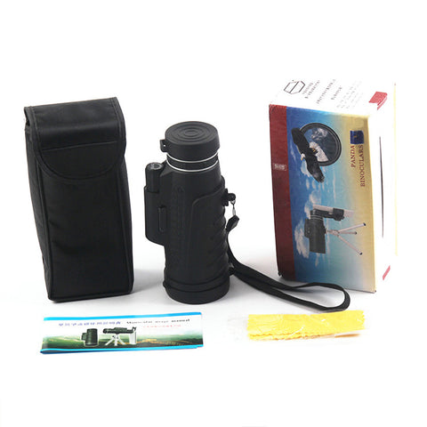 Image of Telescope Clear Night Vision Optic Phone Camera Lens + Tripod