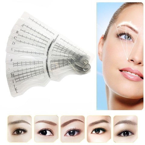Eyebrow Stencil with Head Strap
