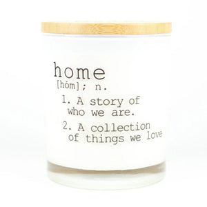 HOME DEFINITION CANDLE