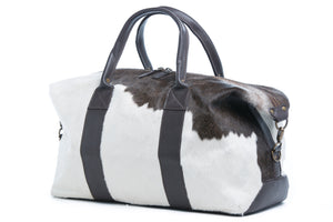 'Texas' - Hide Leather Travel Bag