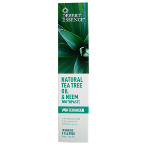 Tea Tee Neem Toothpaste, Wintergreen