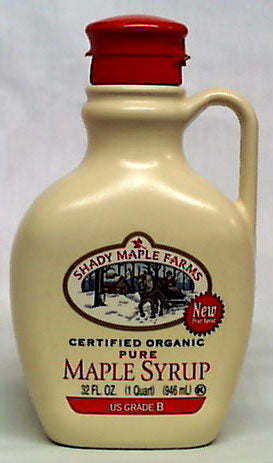 Maple Syrup, Grade B, Pure