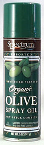 Extra Virgin Olive Spray Oil, Organi