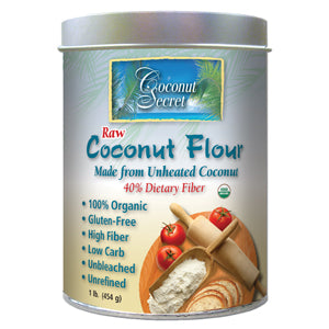 Coconut Flour, Raw, Organic