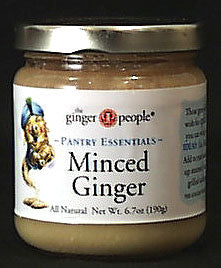 Ginger, Minced