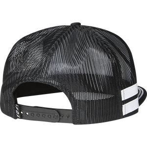 FOX INTERCEPT SNAPBACK HAT - BLACK