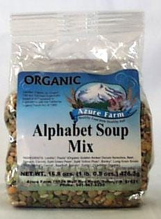 Azure Farm Alphabet Soup Mix Organic - 16.8 ozs.