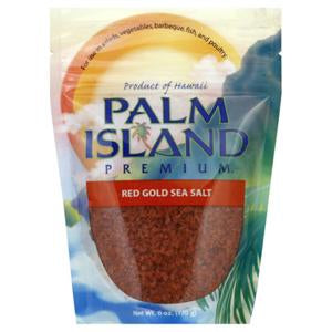 Palm Island Premium Sea Salt, Red Gold - 5 lbs.