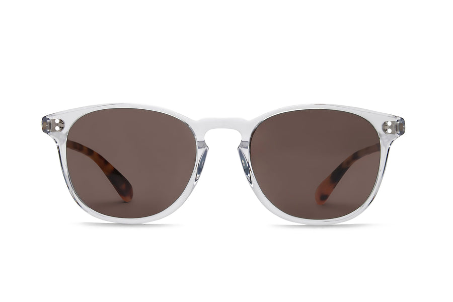 Rocket P3 Classic Crystal & Blonde Tortoise with Brown Polarized Lenses (Tortoise and Crystal)