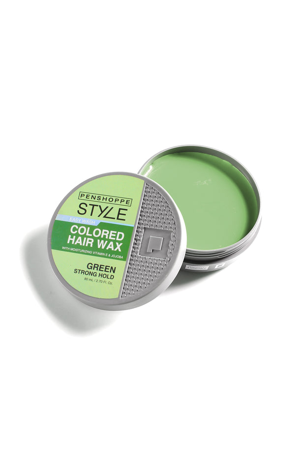Penshoppe Style Colored Hair Wax Green 80ML