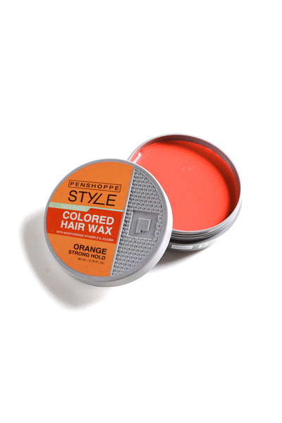 Penshoppe Style Colored Hair Wax Orange 80ML