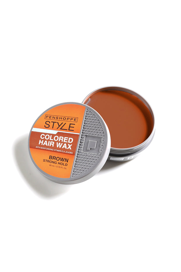 Penshoppe Style Colored Hair Wax Brown 80ML