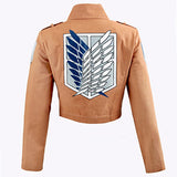Attack on Titan Jacket Shingeki no Kyojin Legion Coat Cosplay Eren Levi Jacket Costume