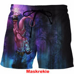 Dragon Ball Z Summer Men Shorts