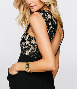 Sexy Sequins Casual Lace Jumpsuit