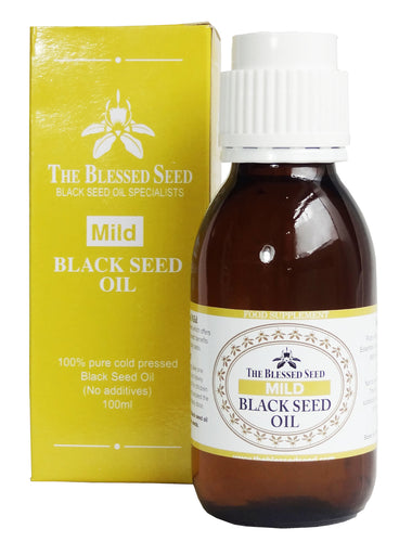 The Blessed Seed Black Seed Oil 100ml - Mild