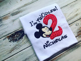 Mickey Mouse I'm Toodles birthday shirt