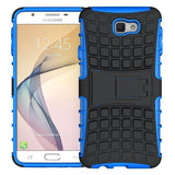 Modes Cases blue Samsung Galaxy J7 TPU Slim Rugged Stand Case Cover