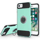 Modes Cases green iPhone 6 / 6S Shockproof 360° Ring Case