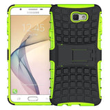 Modes Cases green Samsung Galaxy J7 TPU Slim Rugged Stand Case Cover
