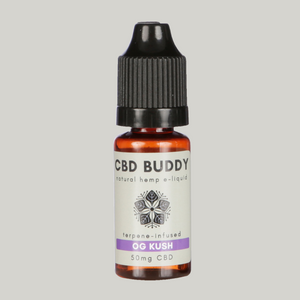 OG KUSH CBD VAPE: For a relaxed, happy euphoric vibe with an earthy, woody, pine aroma
