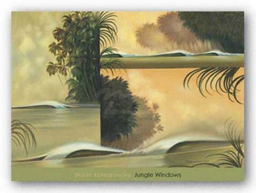 Jungle Windows by Wade Koniakowsky