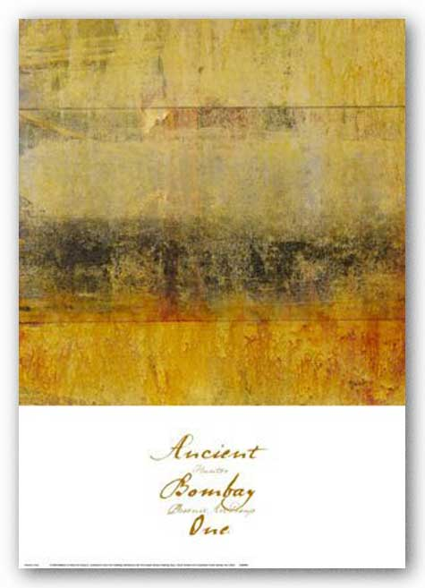 Ancient Bombay One by Hunter