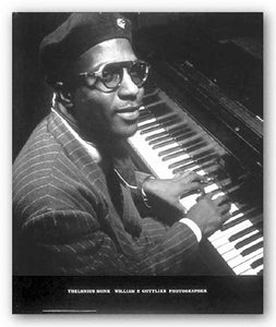 Thelonious Monk by William Gottlieb