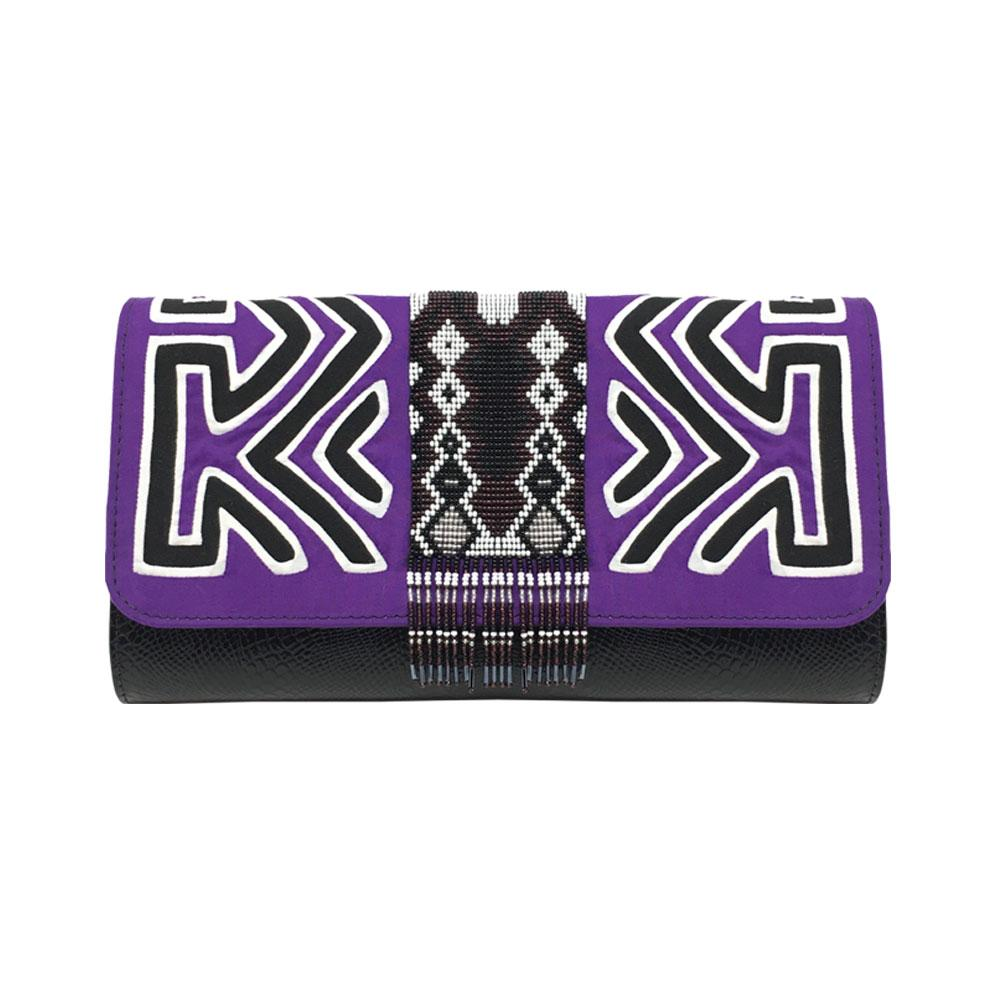 Pachanabba Purple Clutch