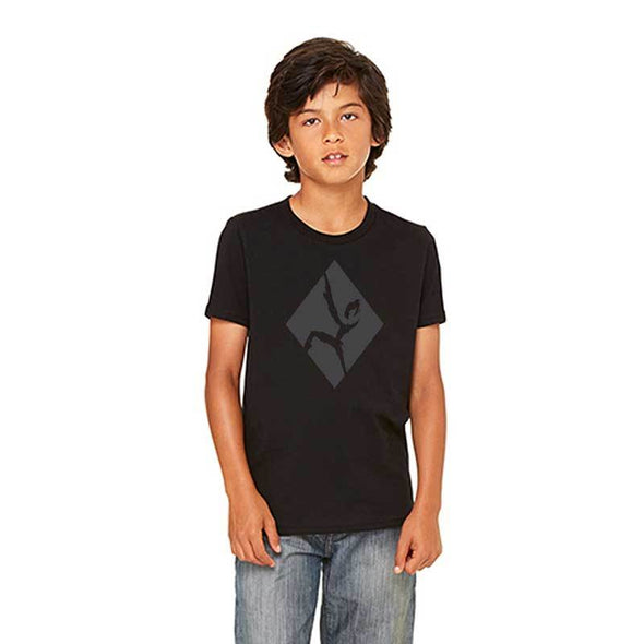 Youth black out climber t shirt