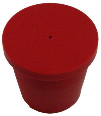 Plain Plastic Rebar Cap (No Text)