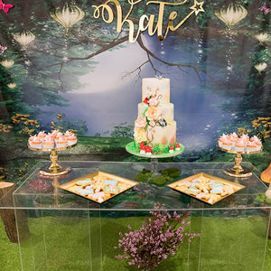 themed fairy dessert table