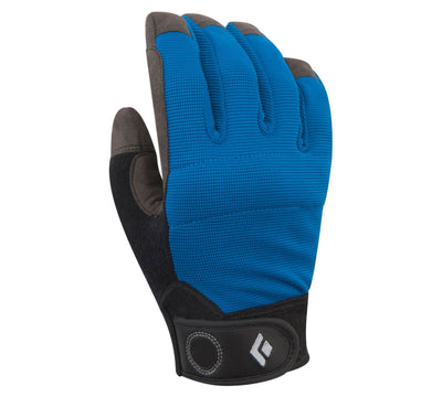 Black Diamond Crag belay Glove, in blue