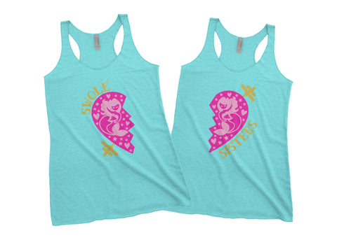 Swole Sisters Tank Set - Weight Lifting Partner Tanks